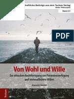 Von Wohl und Wille - Alexander Hevelke