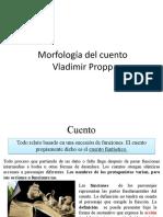 Morfología Del Cuento Propp