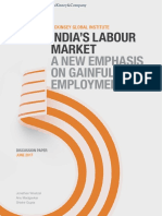 Indias Labour Market a New Emphasis on Gainful Employment