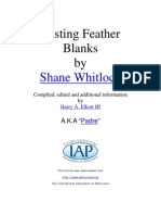 Casting Feather Blanks