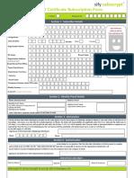 DGFT Form