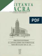 Catolicismo e Protestantismo Em Portugal Nos Séculos XIX e XX