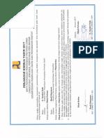 Perjanjian Kinerja SNVT PNP Jambi 2017