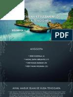 Kesultanan-kesultanan Di Nusa Tenggara Kelompok 4
