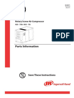 Ingersoll Rand 80446271 Parts Manual R55-75