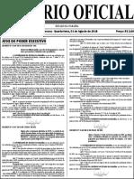 Diario Oficial 01-08-2018