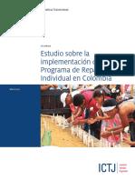 ICTJ COL Estudio Reparacion Individual 2015