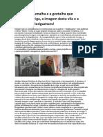 Adelino Pina Fariseu a Escumalha e  Gentalha Que Prejudica a Imagem de Loriga