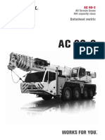 AC 80-2 (80t Capacity All Terrain Crane)