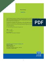 Medi Prime Customer Information Sheet