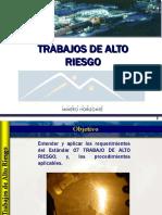18 Trabajos de Alto Riesgo,Altura,Confinados,Calientes y Andamios(v.2007)