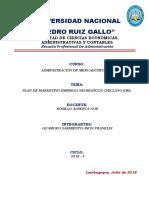 Plan de Marketing Para La Empresa Neumaticos Chiclayo Listo