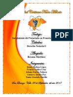 Informe Notarial en Francia y España