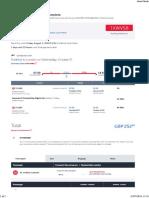 Turkish Airlines Return