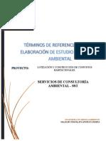 Propuesta Estudio de Impacto Ambiental[2065]