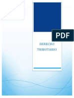 Monografia Derecho Tributario