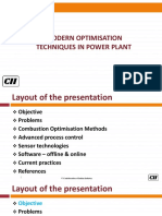 Modern Optimization Techniques in Power Plants