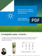 Ultra Eficiencia UHPLC