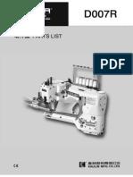 Partslist Siruba D007R.Pdf