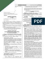 Decreto Legislativo Que Incorpora en El Codigo Penal El Deli Decreto Legislativo n 1181 1268120 2