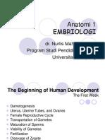 EMBRYOLOGIS 1