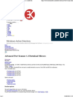 Advanced Port Scanner 13