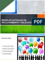 Modelos Actuales en Reclutamiento y Selección