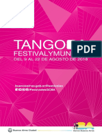 Catálogo TANGO BA 2018