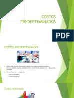COSTOS PREDERTEMINADOS