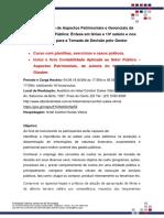 Folder SITE Curso Contabilidade Pública Gerencial e Aspectos Patrimoniais