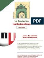 La Revolución Institucionalizada