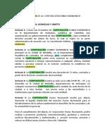 Acta de fundación de la corporación Dunav Kuzmanich.