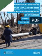 Plan Maestro San Antonio de Areco (Min. Interior)