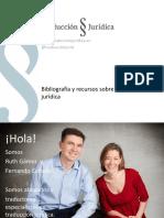 Bibliografía y Recursos Sobre La Traducción Jurídica