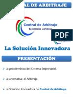 Presentación Central de Arbitraje