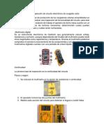 Procedimiento para inspección de circuito electrónico de cargador solar.docx