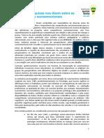 Histórico de Pesquisas Sobre as Competências Socioemocionais