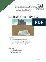 Proyecto Planta Geotermica