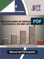 Manual Metodologias de Riesgos ISO 9001