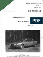 citroen cx manual series 1 volume1 transmission mechanics tire rh scribd com