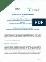 Memorandum Krei Thuenen