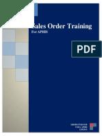 Sales Order SAP