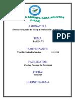 Unidad Vi Educacion Para La Paz y Formacion Ciudadana