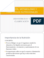 Nutrición_2c Metabolismo y Trastornos Nutricionales