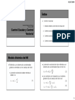 conttro vectoriall