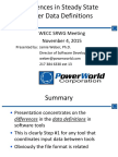 PowerWorld Data Structure Differences.pdf
