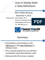 PowerWorld Data Structure Differences.pdf