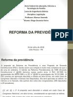 Trabalho_Reforma da Previdência.pptx