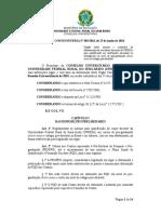 Resolução Consuni Ufersa Nº 003 2018