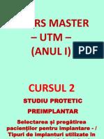 Curs 2_master – Utm - 2016